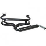 Single Glass Pack Sports Exhaust System Beetle And Camper ( Kadron )