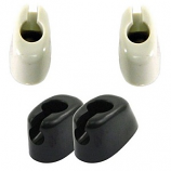 Sunvisor Clips Pair Black Or White Beetle 58-64 And Campers