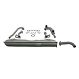 Type 25 1900c Waterboxer Exhaust System Complete