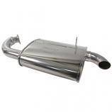 Stainless Steel Mondo Exhaust Silencer 1300-1600cc Beetle For Merged Header
