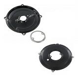Reproduction Black Alternator And Dynamo Backing Plate Kit 1200-1600cc
