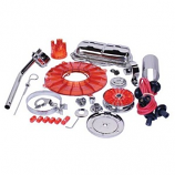 Chrome & Coloured Cal Look Engine Dress Up Kit Tin Wear