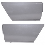 Outer Sill End Repair Panel Cargo Door Side Split Screen Upto 1967