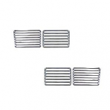 Chrome Engine Lid Trim Kit 4 Pce