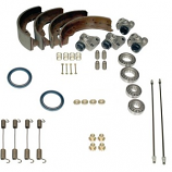 Front Drum Brake Overhall Rebuild Kit Camper 1968-1970 Shoes Etc