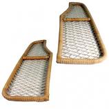 Bamboo Style Under Dash Parcel Shelf Kit Bay Window Camper 1968-1979